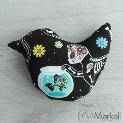 Day of the dead Kitty - Spielkissen mit Baldrian