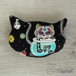 "Spielkissen mit Katzenminze ""Day of the dead kitty"""